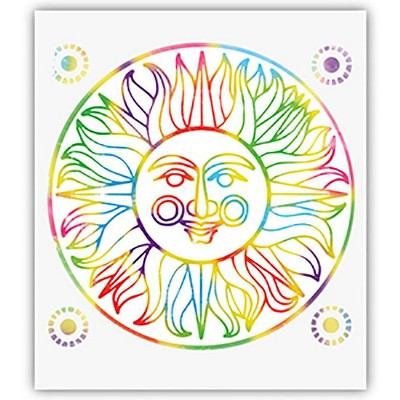 Creativity Street Now You See It Etch Paper, Rainbow, 50 Sheets