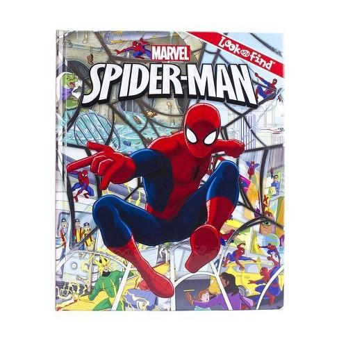 Marvel Spider-Man - (Look and Find) by  Derek Harmening (Hardcover) - image 1 of 4