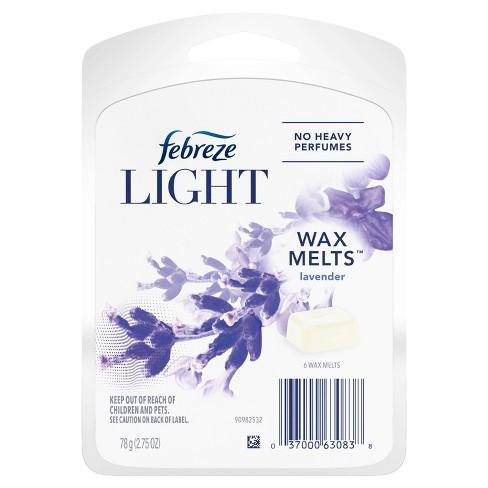 Febreze Light Odor-Eliminating Wax Melts - Lavender Scent - 8ct - image 1 of 4