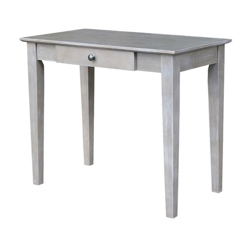 Writing Table Washed Gray Taupe - International Concepts - image 1 of 4