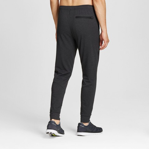 a32388e0c98c6 Men s Soft Touch Jogger Pants - C9 Champion® Black Heather L   Target