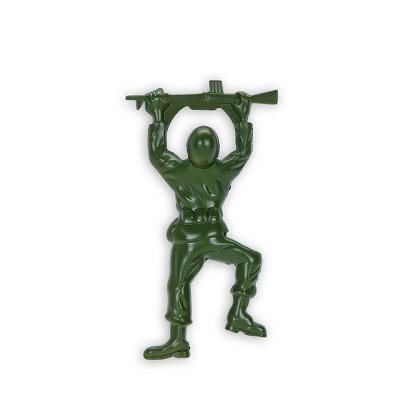 true Army Man Bottle Opener - Green