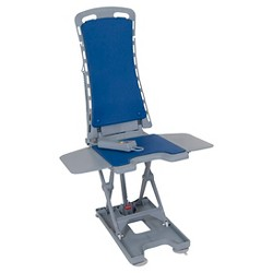 Drive Medical Whisper Ultra Quiet Bath Lift, Blue