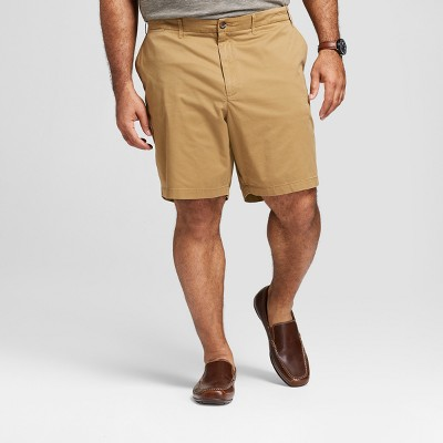 "Men's Big & Tall 9"" Linden Flat Front Shorts - Goodfellow & Co™"