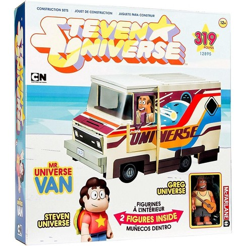 McFarlane Toys Steven Universe Greg Universe and Mr. Universe Van Large Construction Set - image 1 of 3
