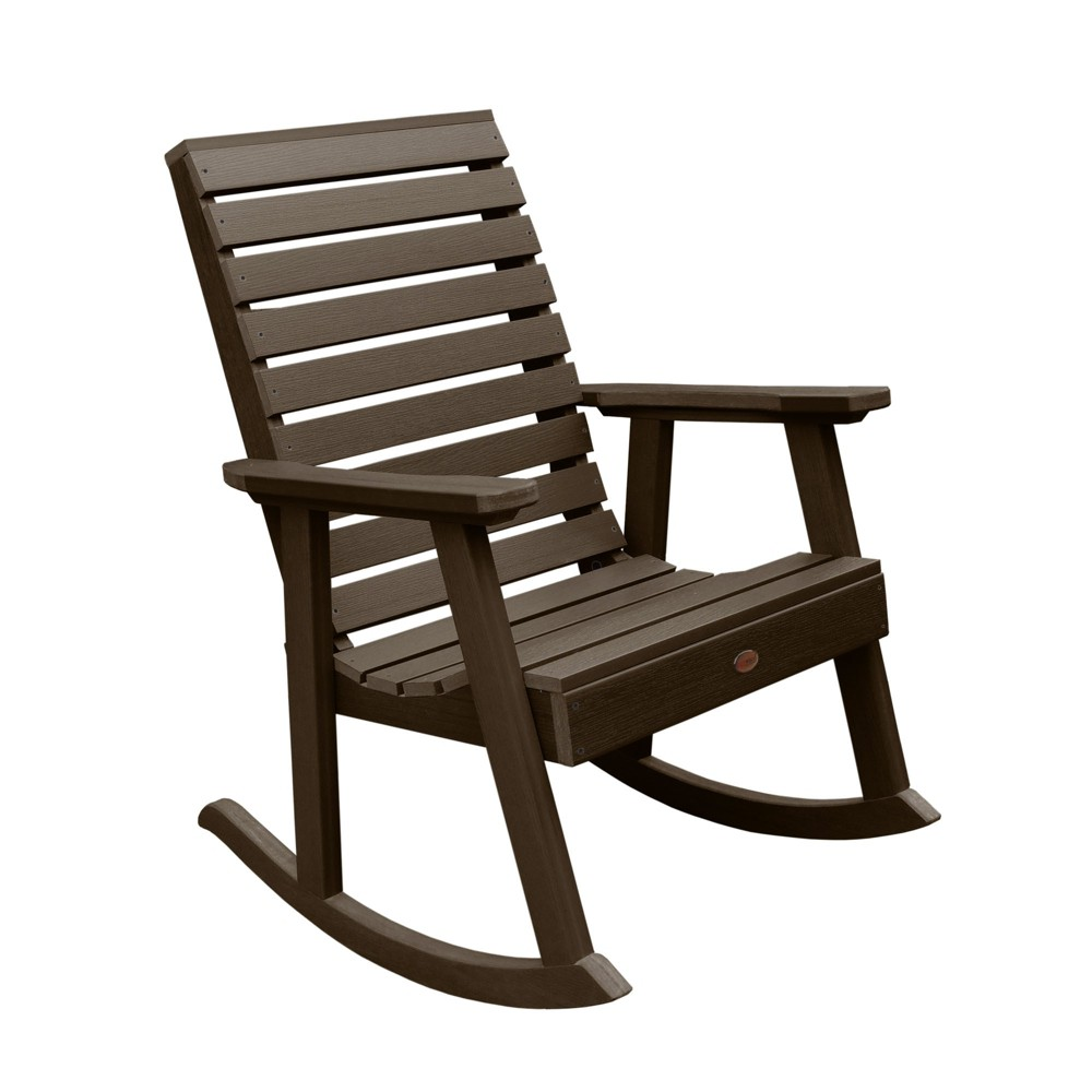 Weatherly Rocking Chair Weathered Acorn - Highwood