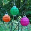 3ct Purple Battery Operated Paper Lantern - image 2 of 3
