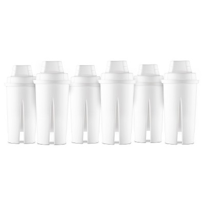 Universal Replacement Water Filters - 6 ct - Up&Up™