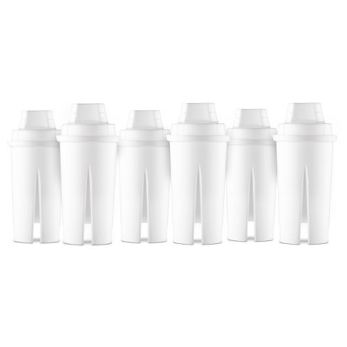 Universal Replacement Water Filters 6pk - Up&Up™ - image 1 of 2