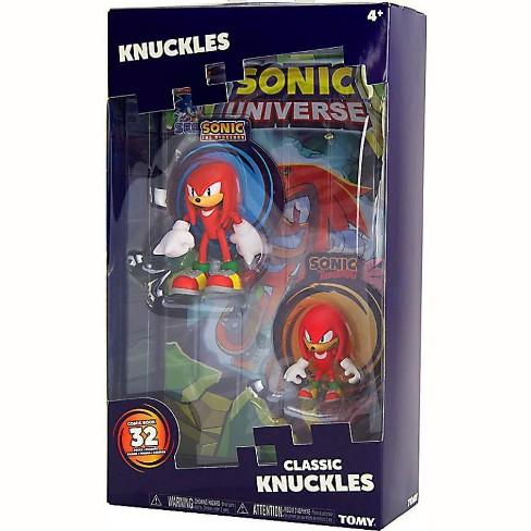 Sonic The Hedgehog Sonic Boom Classic Knuckles Action Figure 2 Pack Comic Target