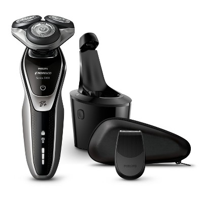 Philips Norelco Series 5750 Wet & Dry Men's Rechargeable Electric Shaver with Smartclean - S5660/84