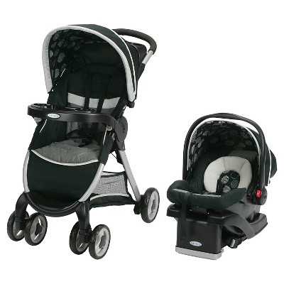 Graco® FastAction Fold® Click Connect™ Travel System - Milan