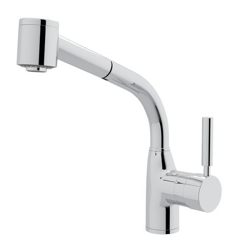 Rohl R7923 Modern Lux 1.8 GPM Deck Mounted Single Hole Pull Out Faucet with Single Lever Metal Handle - image 1 of 2