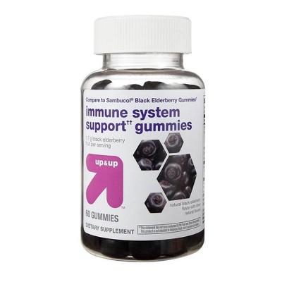 Elderberry Gummies - 60ct - up & up™
