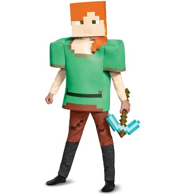 Minecraft Alex Deluxe Child Costume
