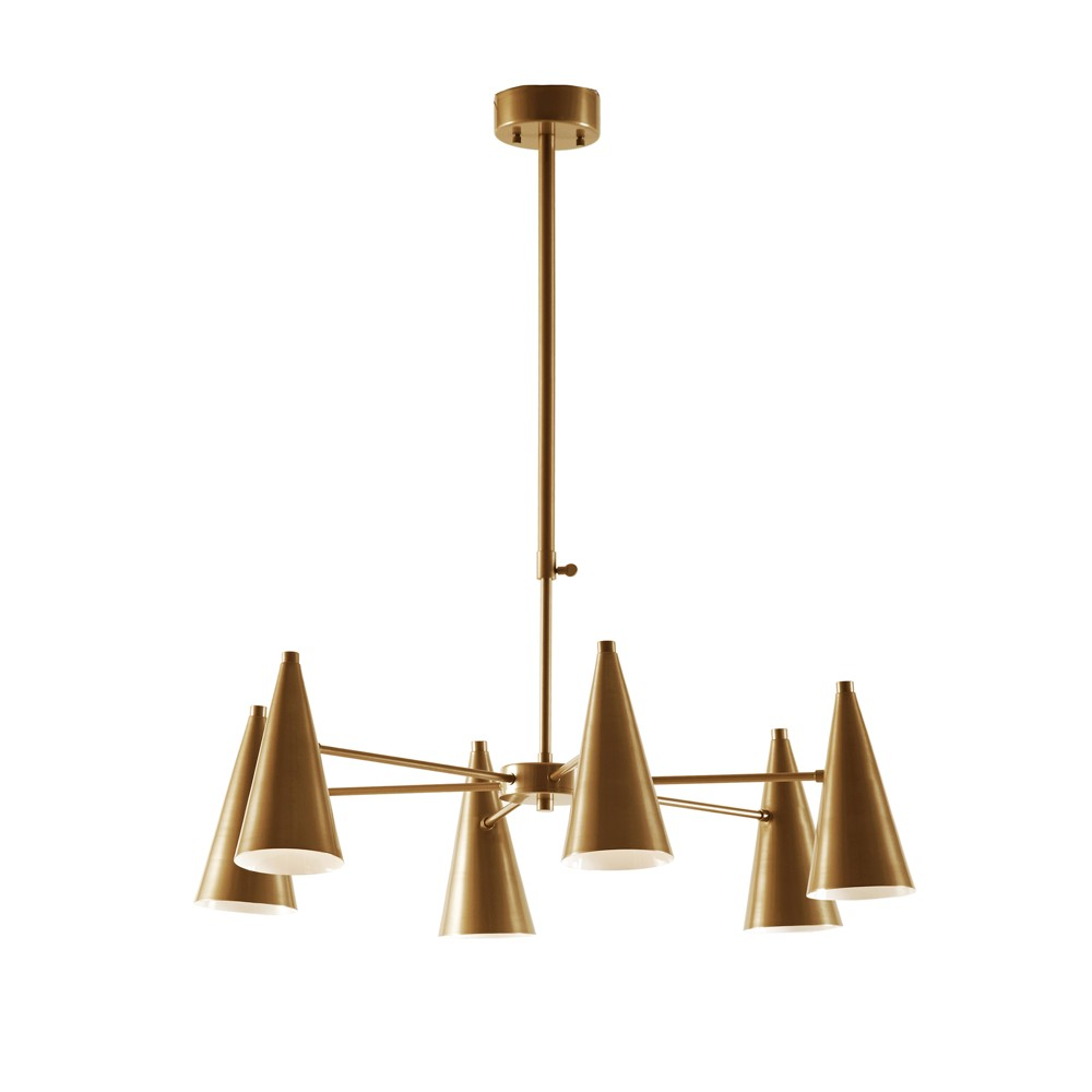 Bellac Chandelier Gold 32.5
