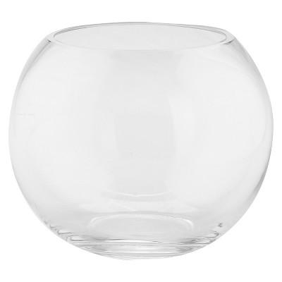 Diamond Star Clear Glass Bubble Bowl Clear (6 x8 )