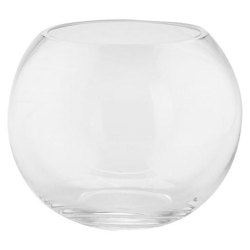 Diamond Star Clear Glass Bubble Bowl Clear 6x8 Target