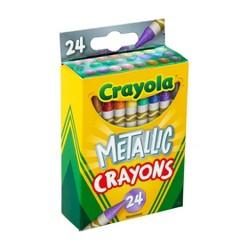 Crayola 24ct Crayons - Metallic