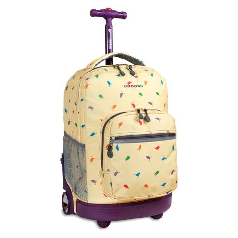 "J World 18"" Sunrise Rolling Backpack - Tweet - image 1 of 2"