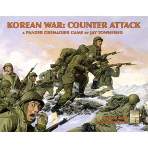 Korean War - Counter Attack Board Game - image 1 of 2