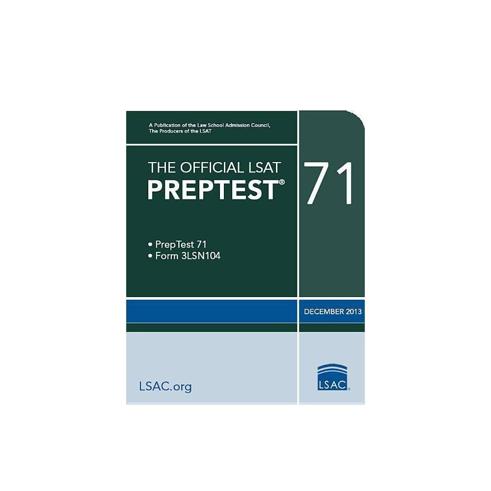 The Official LSAT Preptest 71 - (Official LSAT PrepTest) (Paperback)