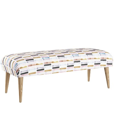 Bench with Cone Legs Design Love Fest