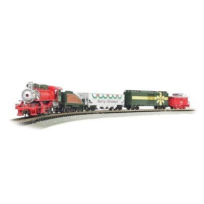 Bachmann Trains Merry Christmas Express 1:160 N Scale Electric Model Train Set