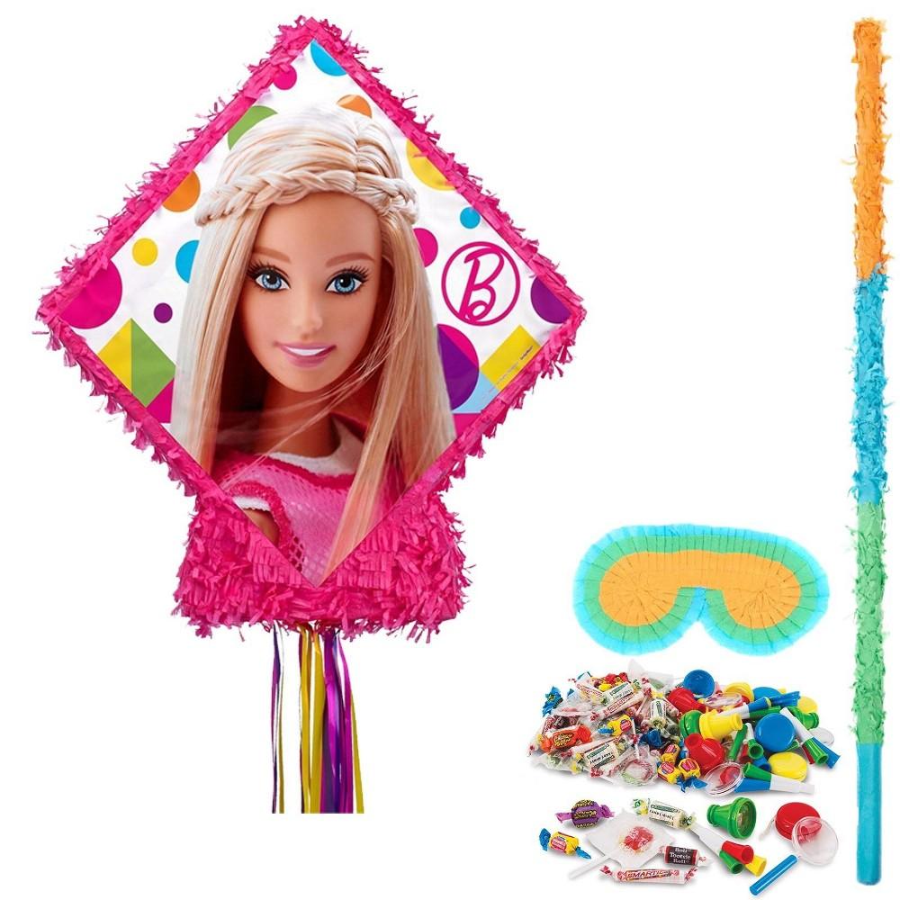 Barbie Pinata Kit, Multi-Colored