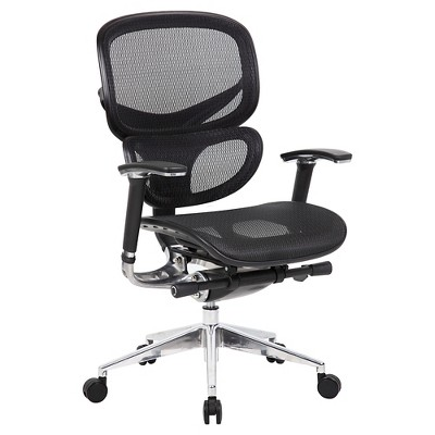 Multi-Function Mesh Chair Black - Boss Office Products