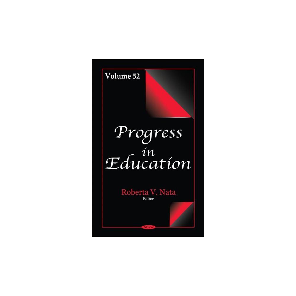 Progress in Education - Book 52 (Hardcover)
