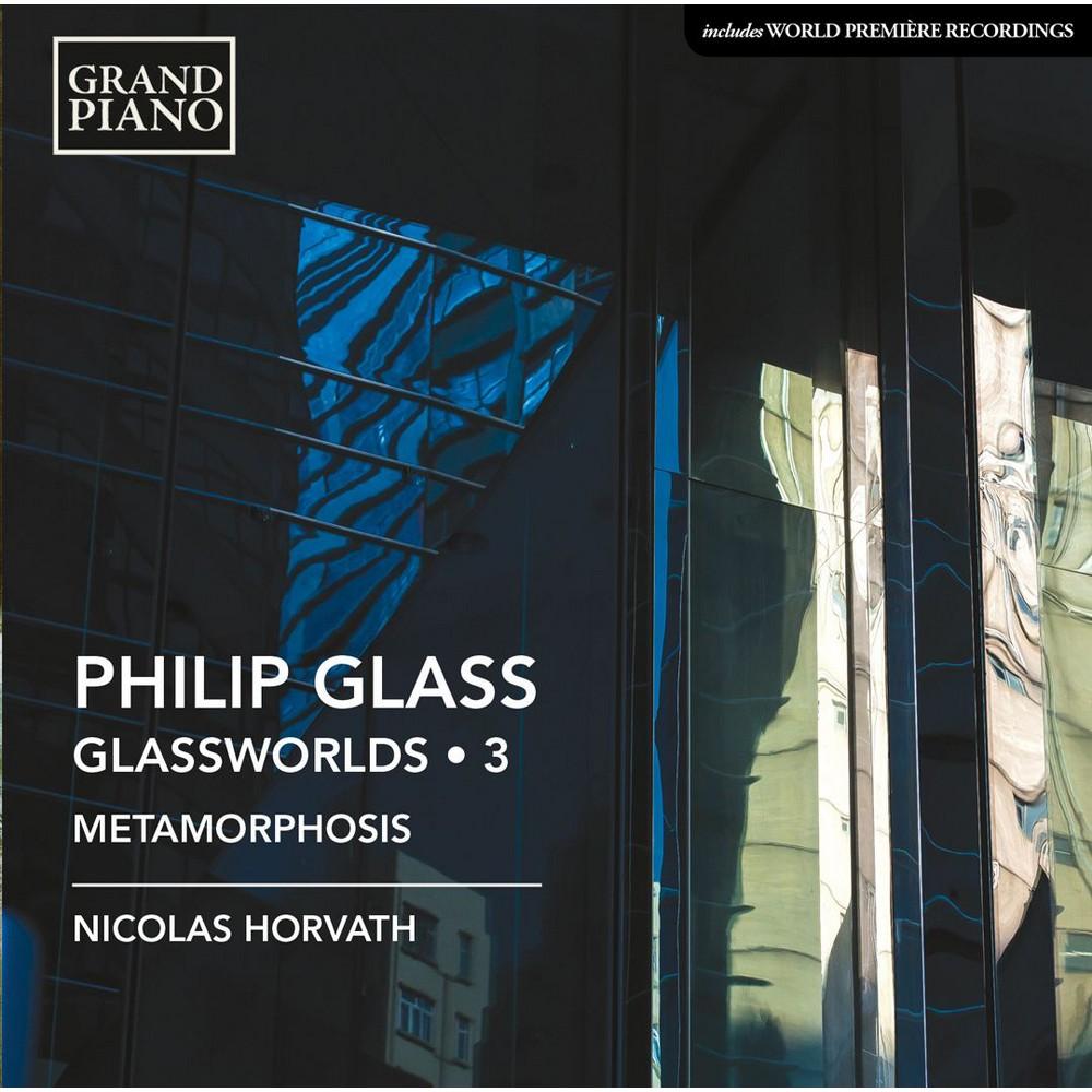 Nicolas Horvath - Glass:Piano Works Vol 3 (CD)