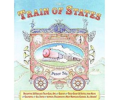 Train of States (Reprint) (Paperback) (Peter Sis) - image 1 of 1