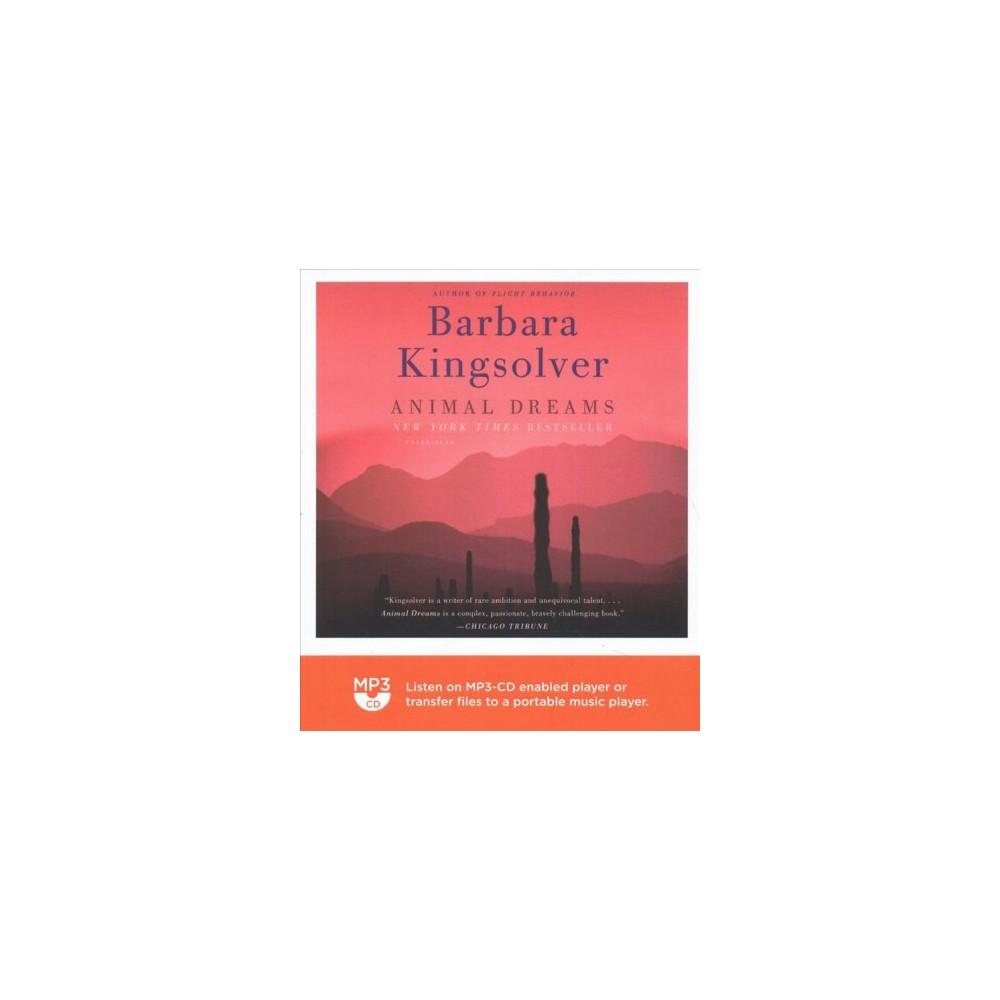 Animal Dreams - MP3 Una by Barbara Kingsolver (MP3-CD)