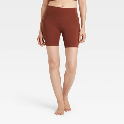 """Women's Contour High-Rise Bike Shorts 7"""" - All in Motion™"""