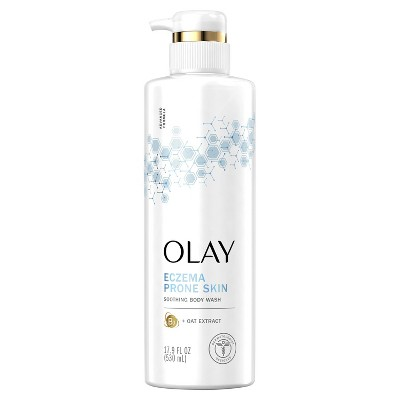Olay Soothing Body Wash with Vitamin B3 Complex and Oat Extract - 17.9 fl oz