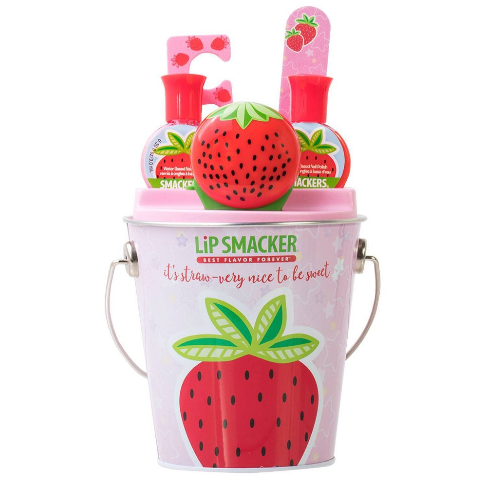 Lip Smackers Pamper Me Collection Strawberry 5ct, Multi-Colored