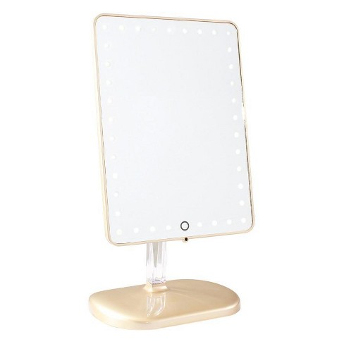 Touch Pro LED Makeup Mirror with Bluetooth Audio+Speakerphone & USB Charge - image 1 of 2
