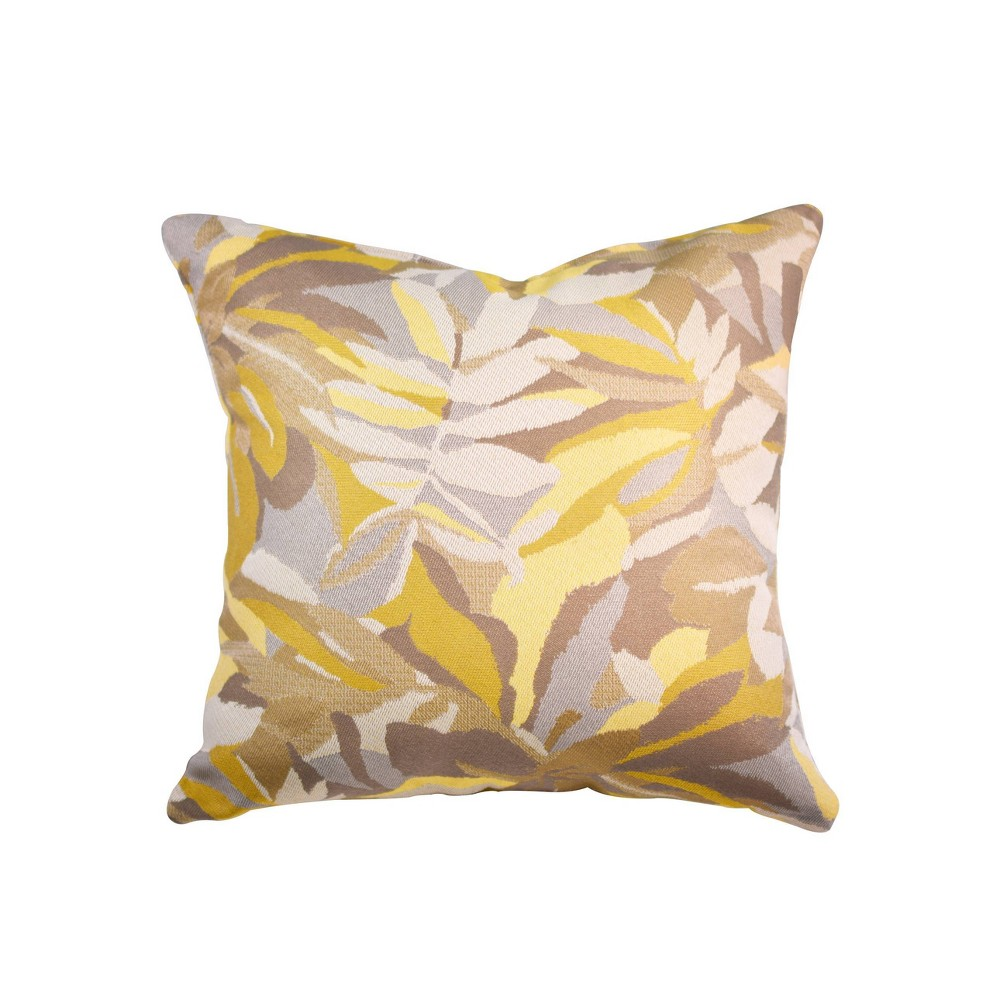 "Image of ""Pacifca Accent Throw Pillow Dewey Yellow - Astella, Size: 18""""x18"""""""