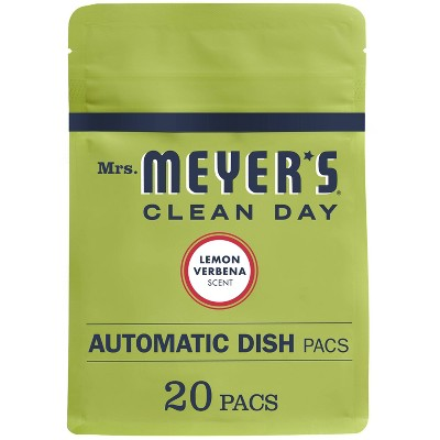 Dishwasher Detergent: Mrs. Meyer's Automatic Dish Packs