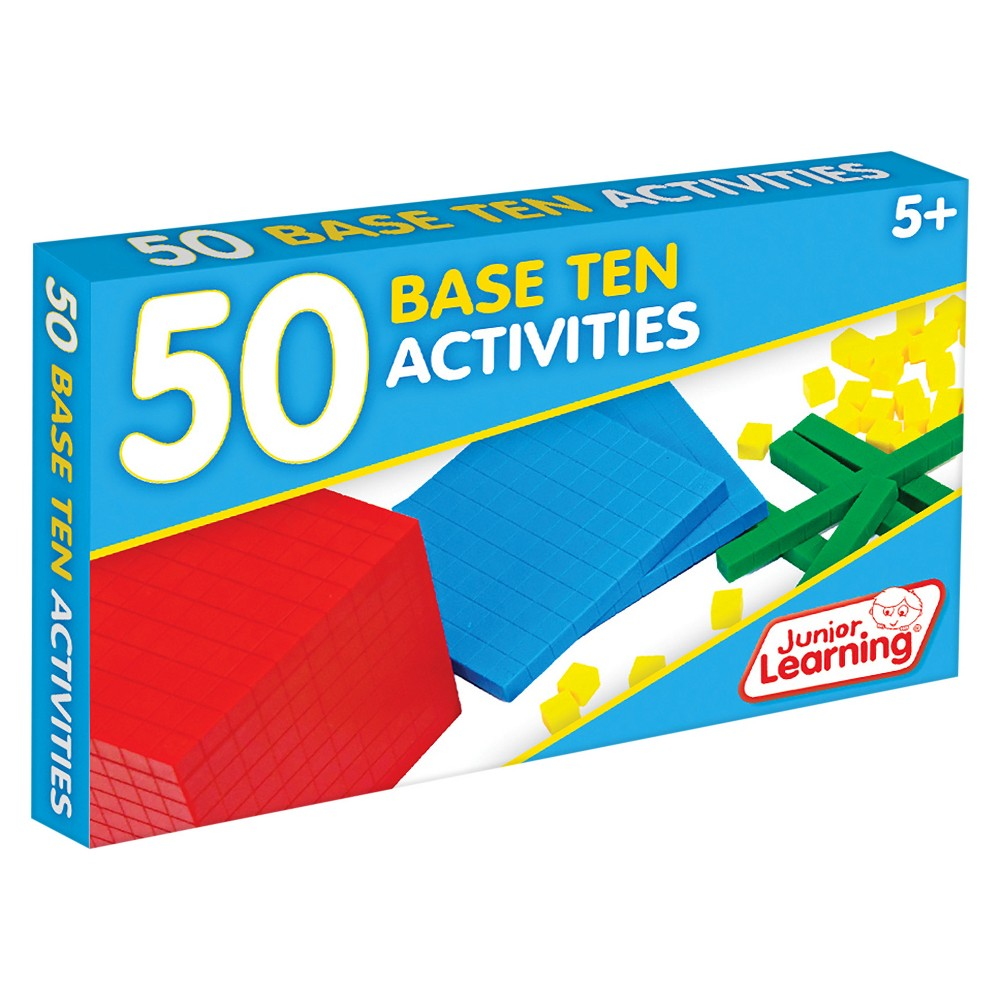Image of Junior Learning 50 Base Ten Activities Learning Set