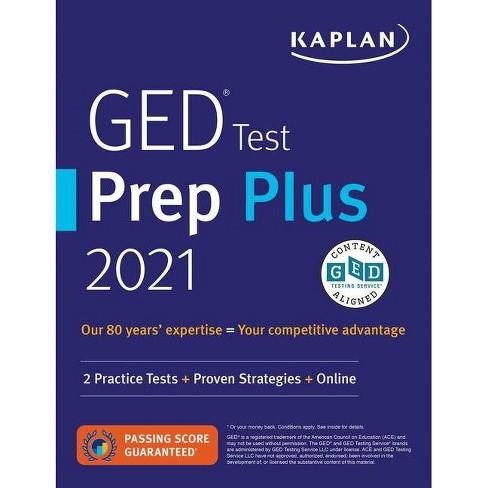 GED Test Prep Plus 2021 - (Kaplan Test Prep) by  Caren Van Slyke (Paperback) - image 1 of 1