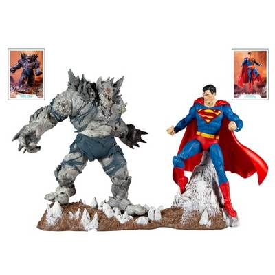 DC Comics 2pk Battle Scene - Superman vs Batman Earth -1