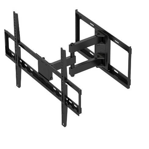 """Titan Series Full Motion Dual Stud Single Arm Wall Mount For Large Up to 70"""" Inch TVs Displays, Max 77 LBS. 200x200 to 600x400, Black - image 1 of 4"""