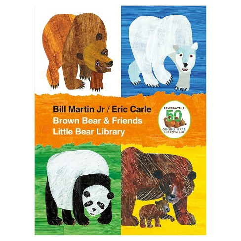 Brown Bear & Friends Little Bear Library by Bill Martin, Eric Carle - image 1 of 1