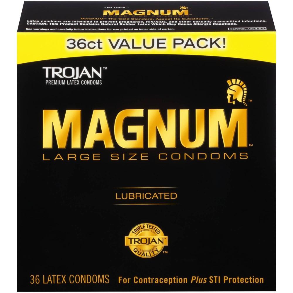 Magnum Large Size Condoms 36ct