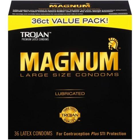 Trojan Magnum Condoms - image 1 of 4