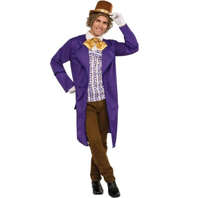 Rubies Willy Wonka & the Chocolate Factory: Willy Wonka Deluxe Adult Costume