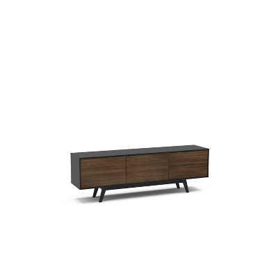 """Laos TV Stand for TVs up to 78"""" Dark Brown/Black - Chique"""