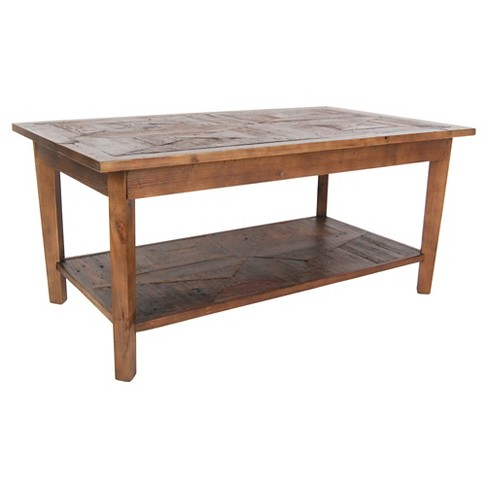 Coffee Table Hardwood Natural - Alaterre Furniture® - image 1 of 2